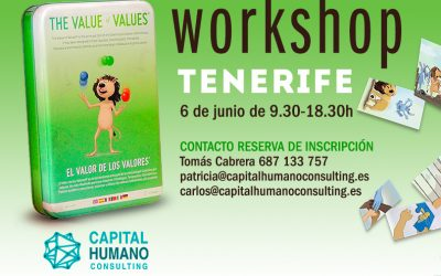 Workshop en Tenerife – El valor de los valores